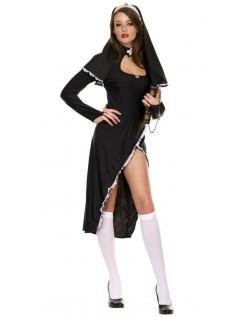 Frække Nonne Kostume Til Kvinder
