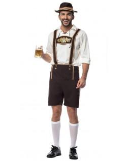 Tyroler Kostumer Bayerske Oktoberfest Lederhosen