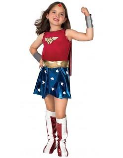 Børn Superhelt Wonder Woman Kostume