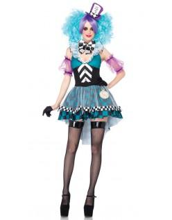 Skøre Mad Hatter Kostume Til Kvinder
