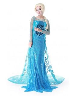 Frost Elsa Kjole Frost Elsa Kostume Voksen