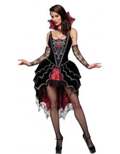 Deluxe Mørk Elskerinde Vampyr Kostume
