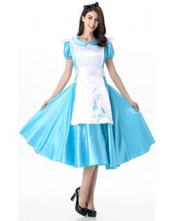 Alice i Eventyrland Te Tid Alice Kostume