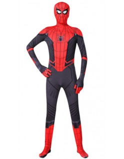 Spiderman Far From Home Peter Parker Kostume Bodysuit Voksne
