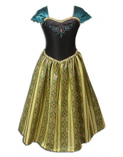 Frozen Kostume til Børn Anna Prinsessekjole