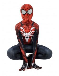 PS4 Spiderman Kostume til Børn og Voksne Halloween Superhelte Kostumer