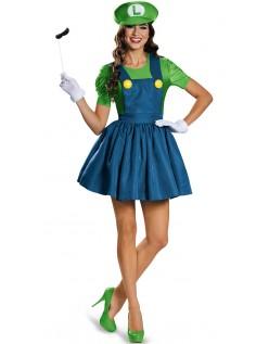 Super Mario Kostume Blikkenslager Luigi Kostume Kvinder