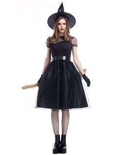 Fortryllede Halloween Hekse Kostume