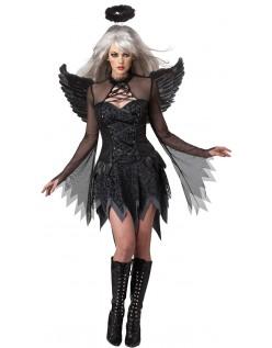 Mørk Engle Kostume Til Halloween