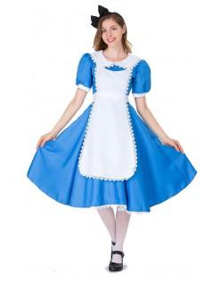 Alice i Eventyrland Supreme Alice Kostume til Voksne