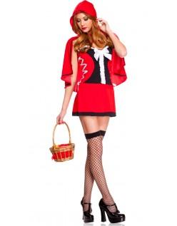 Snøre Sig Lidt Rødhætte Kostume