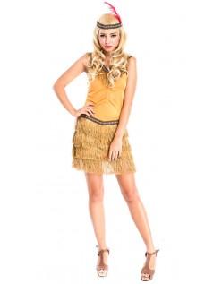 Halloween Indianer Indfødte Kostume
