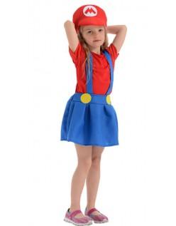 Tweens Mario Blikkenslager Kostume til Børn