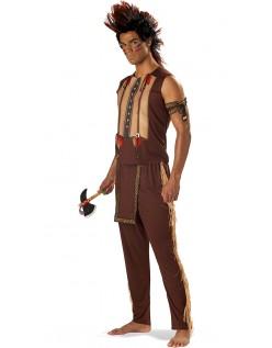 Ædle Halloween Indianer Kostume til Mænd