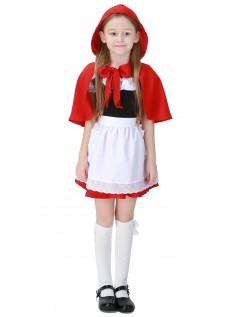 Lol Lille Rødhætte Kostume Børn