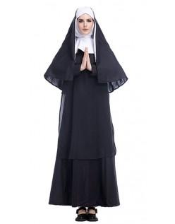 Jesus Christ Missionær Nonne Kostume