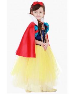 Halloween Prinsessekjole Snehvide Kostume Børn