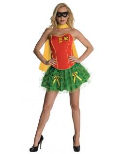 Frække Korset Robin Kostume Med Kappe
