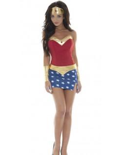 Frække Superhelte Kostumer Wonder Woman Kostume