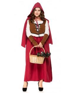 Skov Lille Rødhætte Kostume Store Størrelser