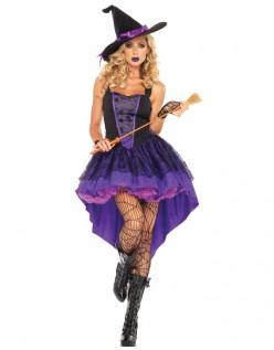 Broomstick Babe Halloween Hekse Kostume