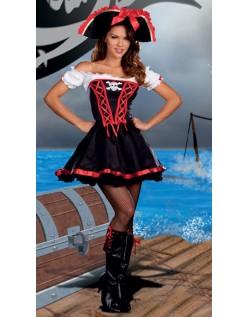 Besvær På Havet Pirat Kostume