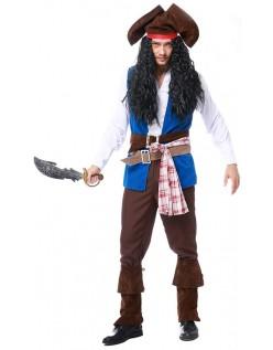 Kaptajn Jack Sparrow Pirat Kostume