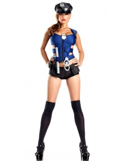 Frække Rookie Politi Kostume