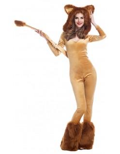 Deluxe Løve Kostume Halloween Dyrekostumer