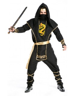 Halloween Ninja Kostume Udklædning Voksen