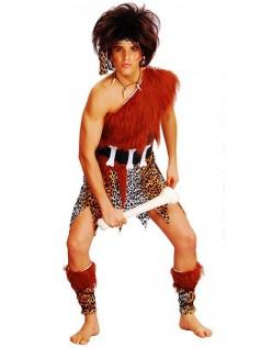 Hulemand Udklædning Indianer Kostumer til Mænd