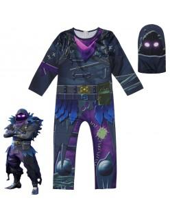 Fortnite Raven Kostume Barn Voksne Halloween Kostumer
