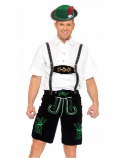 Tysk Oktoberfest Lederhosen Kostume