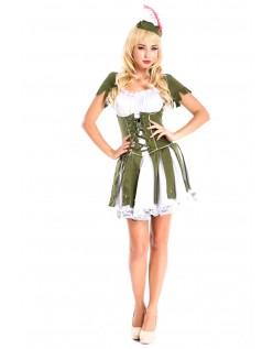Tyv Af Hjerter Robin Hood Kostume