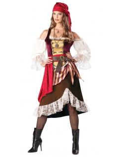 Deluxe Deckhand Darlin Pirat Kostume