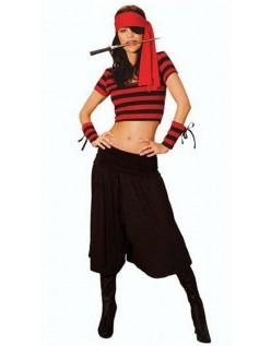 Frække Elskerinde Pirat Kostume Kvinder