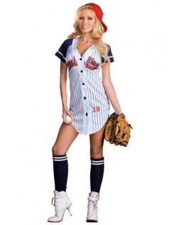 Frække Grand Slam Baseball Player Kostume