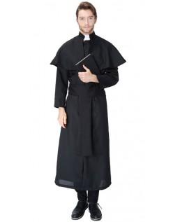 Fromme Præste Kostume Til Mænd