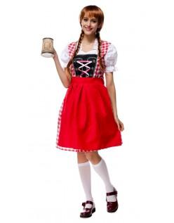 Tyske Bayersk Kjole Tyroler Kostume