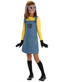 Grusomme Mig Minions Kostume til Piger