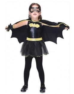 Halloween Batgirl Kostume til Børn