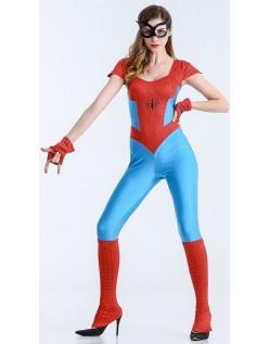 Sassy Spidergirl Kostume Superhelte Kostume Jumpsuit