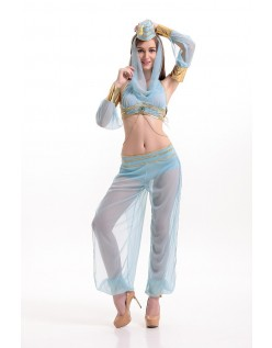 Drømmende Geni Kostume Araber Mavedans  Kostume
