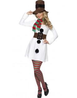 Frosty Mrs Julemandskostume Dame