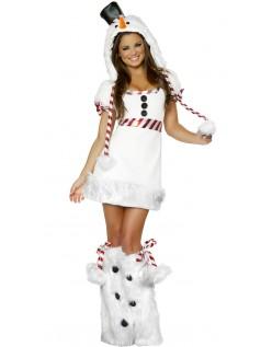 Frække Jule Snemand Kostume