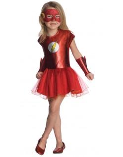 Superhelt Piger Flash Kostume Til Børn