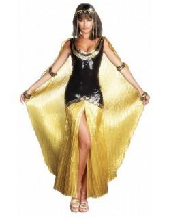 Gudinde Egyptisk Kleopatra Kostume