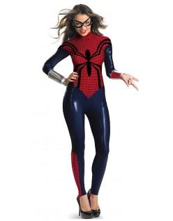 Spidergirl Kostume Halloween Superhelte Bodysuit