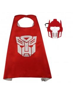 Transformers Optimus Kappe Superhelte Kappe Til Børn Rød