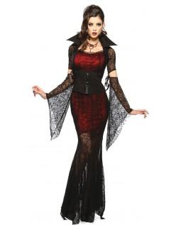 Midnat Vixen Halloween Vampyr Kostume